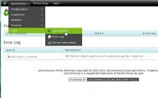osCommerce 3.0.2の管理画面